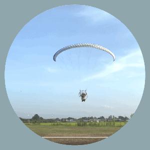 ParamotorFan Akira Kobayashi's First Flight